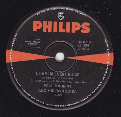 Love in every room / The English Nightingale