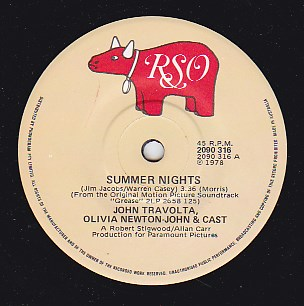 Summer Nights / Rock 'N' Roll Party Queen