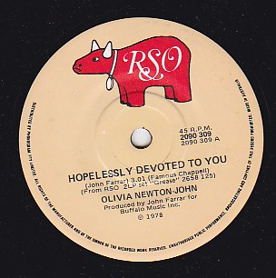 Hopelessly Devoted To You / Love Is A Many Splendored Thing