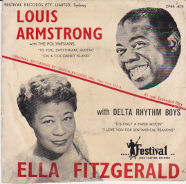 Louis Armstrong / Ella Fitzgerald EP
