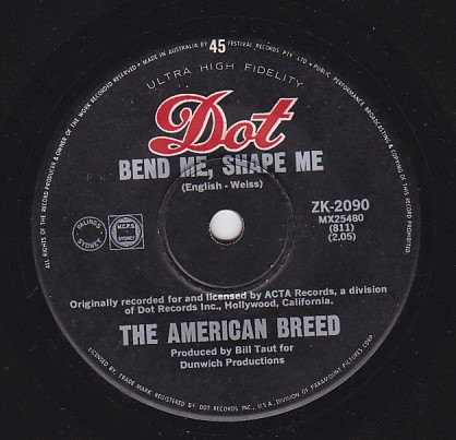 Bend me Shape me / Mind Rocker