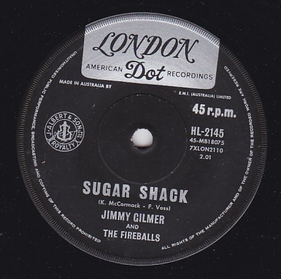 Sugar Shack / My Heart Is Free