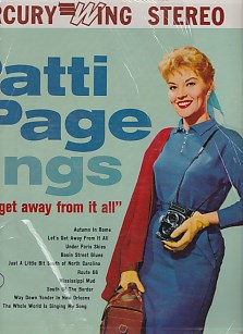 Patti Page Sings Let's Get Away From It All