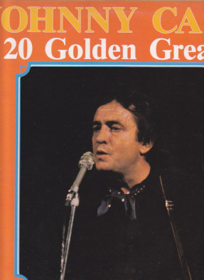 JOHNNY CASH 20 Golden Greats