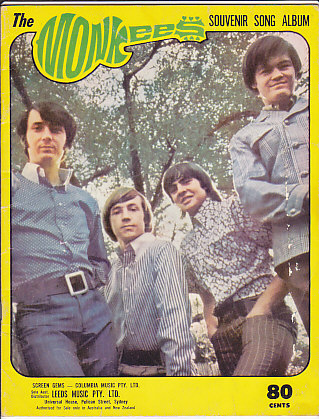 Monkees Souvenir Song Album