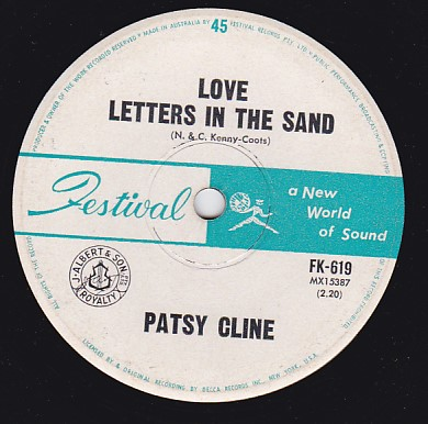 Love Letters In The Sand / That's How A Heartache Begins
