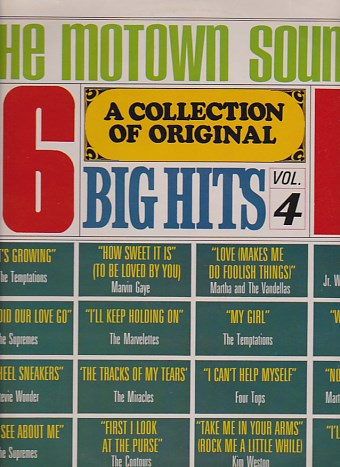 The Motown Sound - A Collection Of Original Big Hits Vol.4
