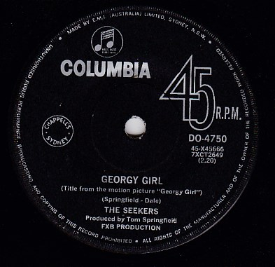 Georgy girl / When the stars begin to fall