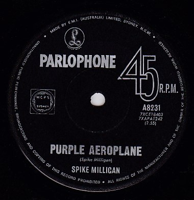 Purple Aeroplane / Nothing At All