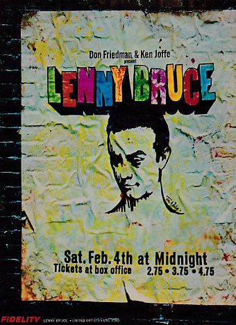 Lenny Bruce In Concert