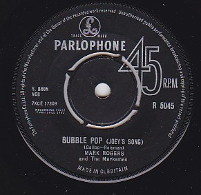 Bubble Pop - Joey's Song / Hold It