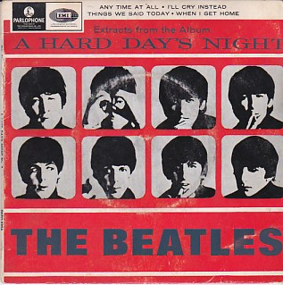 Extracts From The Album A Hard Day's Night No.2 EP