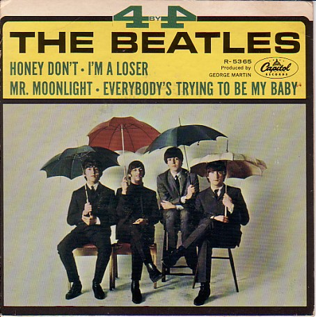 4 By The Beatles EP