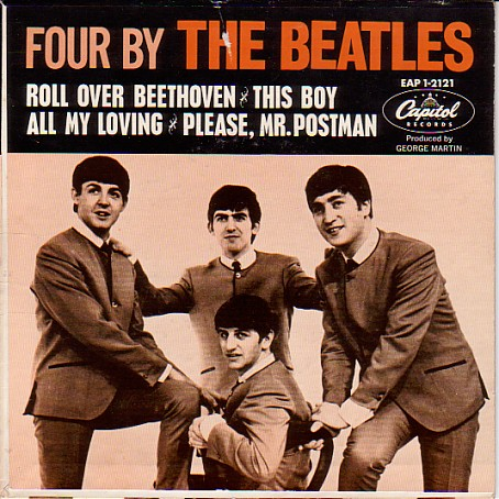 Four by The Beatles EP
