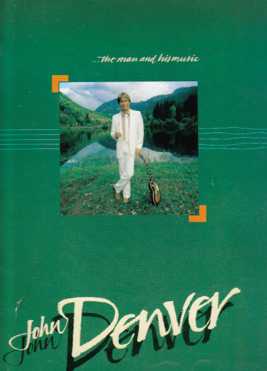 John Denver 1984 AUSTRALIAN TOUR PROGRAM