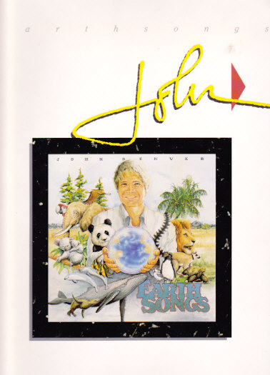 Earth Songs 1990 Australian Tour Program