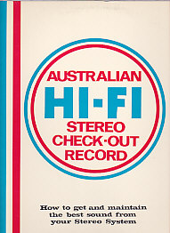 Australian Hi Fi Stereo Check out record