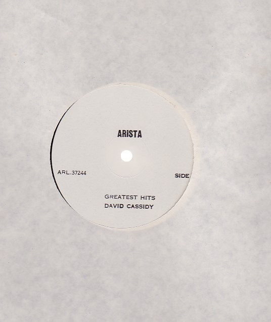 Greatest Hits - WHITE LABEL TEST PRESSING