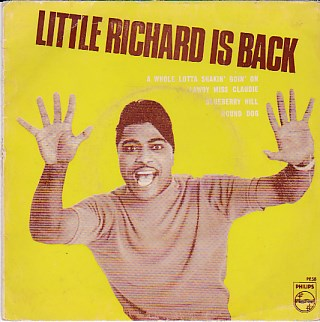 Little Richard Is Back EP COVER ONLY