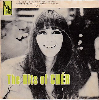 The Hits Of Cher EP COVER ONLY