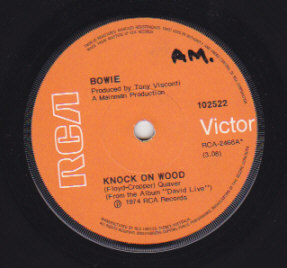 Knock On Wood / Panic In Detroit