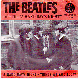 A Hard Days Night / Things we said today