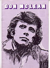 Don McLean Australian Tour Program