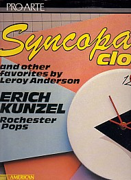 Syncopated Clock and other favourites by Leroy Anderson