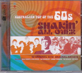 SHAKIN' ALL OVER Australian Pop of The 60s