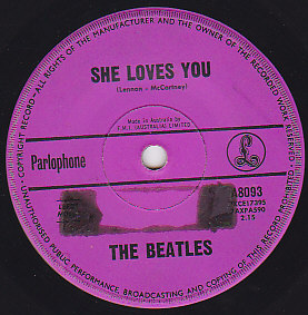 She loves you / I'll get you