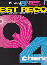Project 3 Test Record QUADRAPHONIC