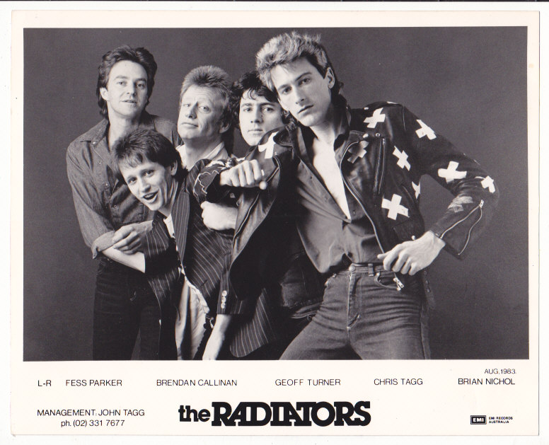 Radiators Signed Promo photo