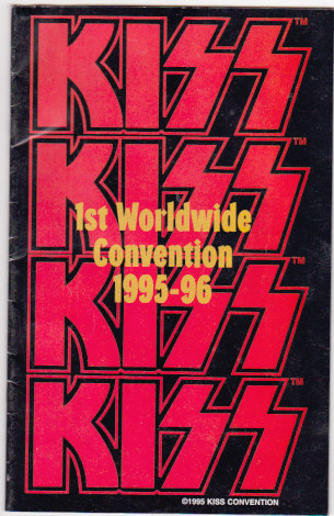 Kiss First Worldwide Convention 1995-96 Program