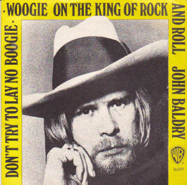 Don't try to lay no boogie woogie on the King of rock and roll /