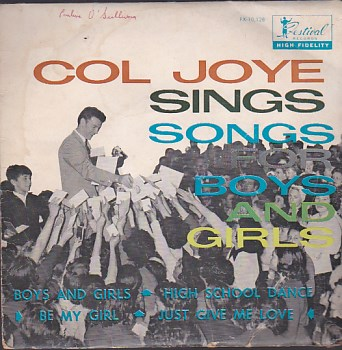 Cole Joye Sings Songs For Girls And Boys EP