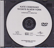 19 Days in New York PROMO EPK DVD