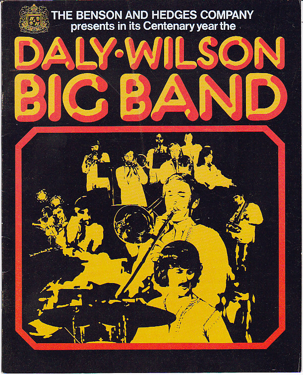 Daly Wilson Big Band Tour Program