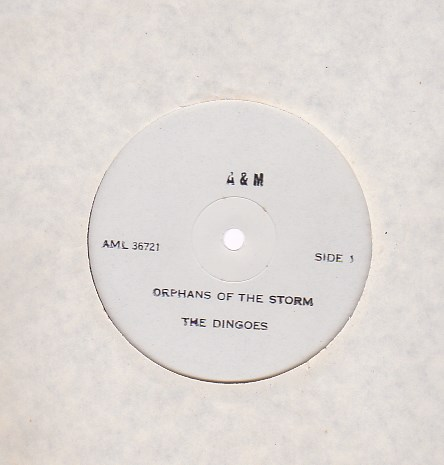Orphans Of The Storm - TEST PRESSING