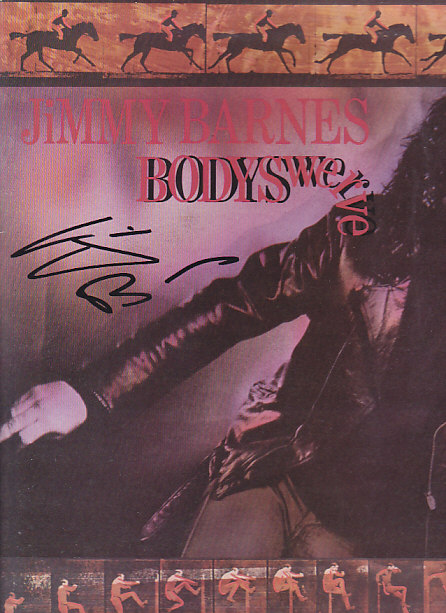 Bodyswerve AUTOGRAPHED