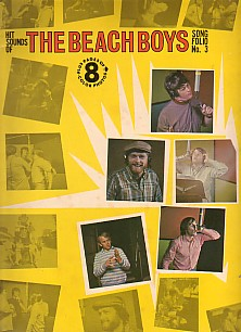 Hit Sounds of The Beach Boys Song Folio NO.3