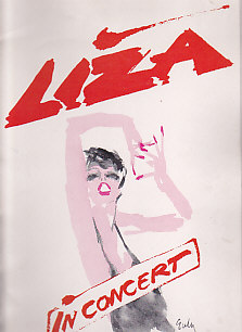 Liza In concert Tour Program