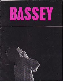 Bassey AUSTRALIAN TOUR PROGRAM