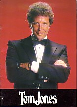 Tom Jones Australian Tour Program
